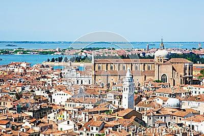 Venice cityscape from Campanile di San Marco