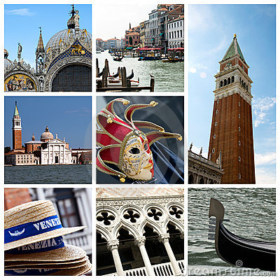 Venice collage - Italy