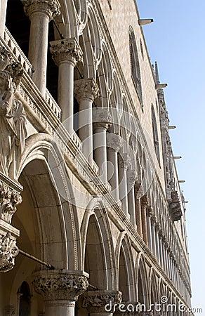 Venice - Doge palace - facade