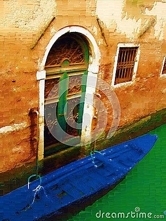 Venice door exterior