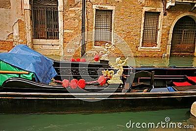 Venice Gondola Detail