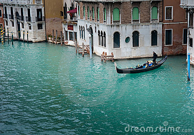 Venice Grand Canal Editorial Image