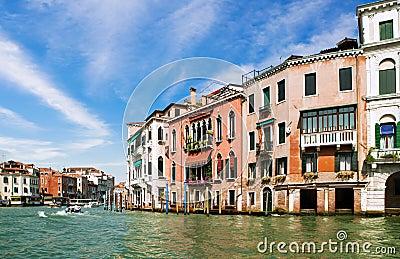 Venice Grand canal, Italy