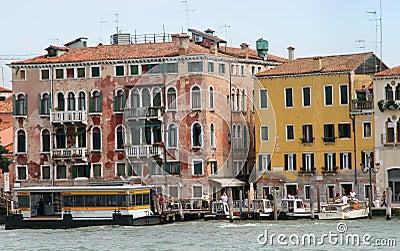Venice Grand Channel Editorial Stock Photo