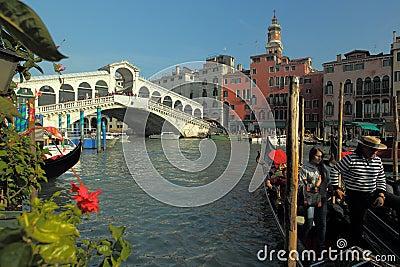 Venice - Grande canal Editorial Stock Image