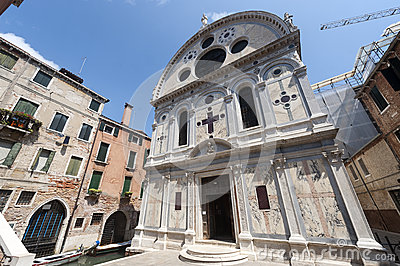 Venice, historic church