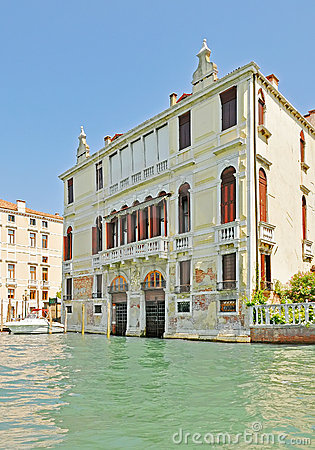 Venice. The house on water