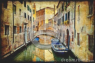 Venice italian vintage landmark
