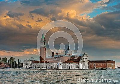 Venice, Italy,Basilica San Giorgio Maggiore