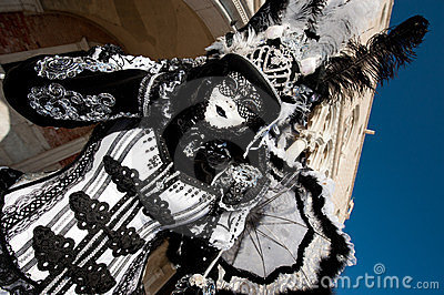 VENICE, ITALY - FEBRUARY 16: Venetian mask Editorial Stock Image