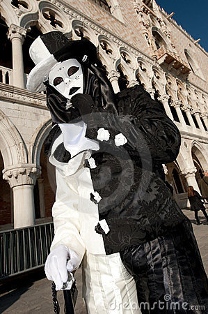 VENICE, ITALY - FEBRUARY 16: venetian mask Editorial Image