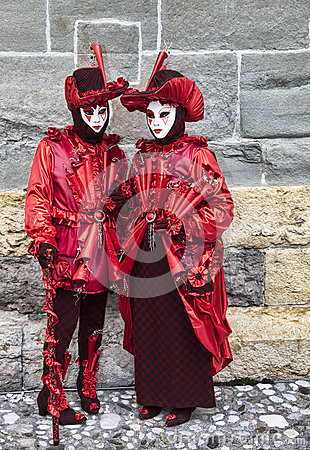 Disguised People Editorial Image