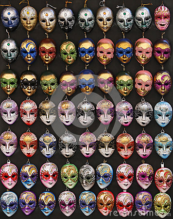 Venice masks