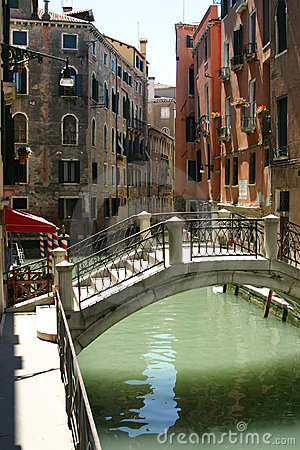 Venice - nice view with bridge