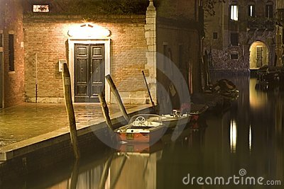 Venice in night