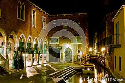 Venice, night scene