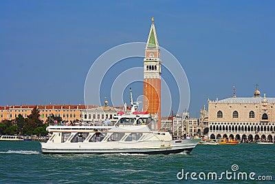 Venice, pleasure boat