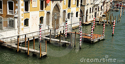 Venice private docks
