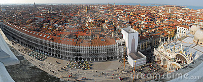 Venice Roofs - City Panorama