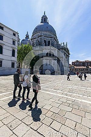 Venice s church Editorial Photography