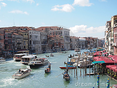 Venice  s Grand Canal Editorial Image