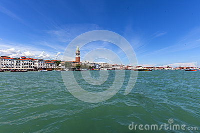 Venice s sea Editorial Stock Photo