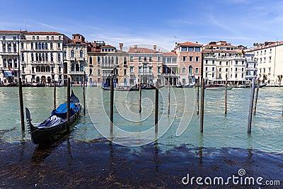 Venice s sea Editorial Photo