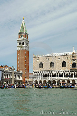 Venice, San Marco seen from the canal