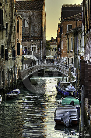 Free Venice Side Road Royalty Free Stock Images - 10606789