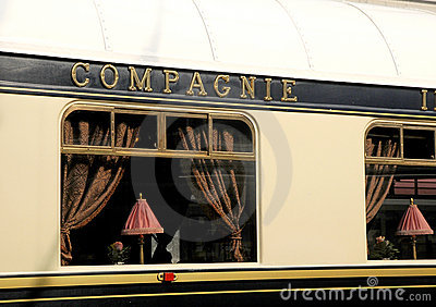 The Venice Simplon-Orient-Express in Innsbruck