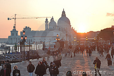 VENICE Square - ITALY Editorial Photo