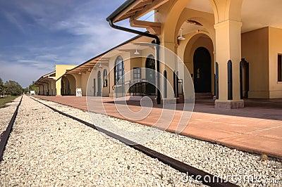 Venice trail depot, Florida
