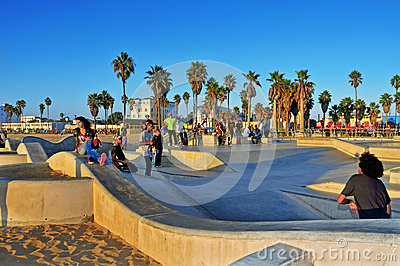 Venice Beach, United States Editorial Image