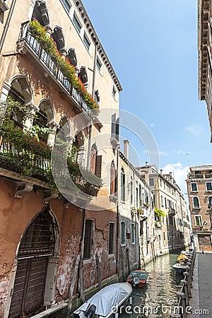 Venice (Venezia), canal