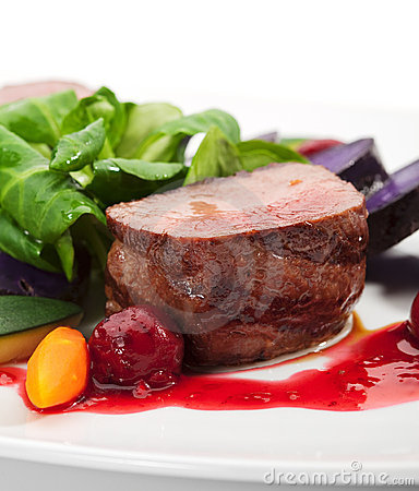 Free Venison Dish Stock Photos - 12955893