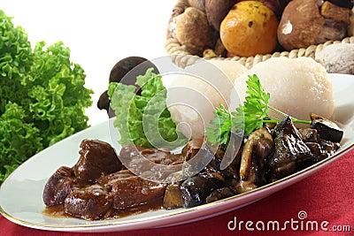 Venison goulash
