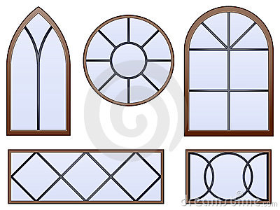 Ventanas decorativas