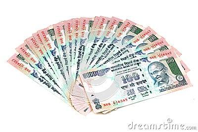 Ventilador del dinero en circulación
