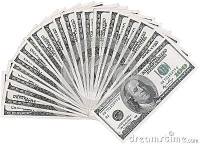 Ventilador del dólar