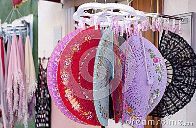 Ventiladores coloridos