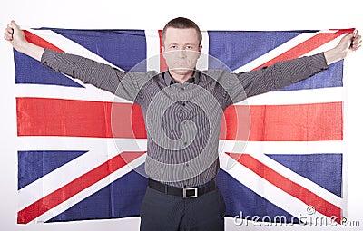 Ventilateur de la Grande-Bretagne