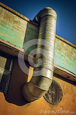 Free Ventilation Pipe Stock Photos - 46976403