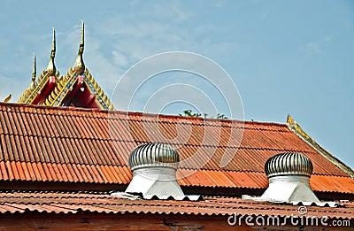 Ventilator on the roof