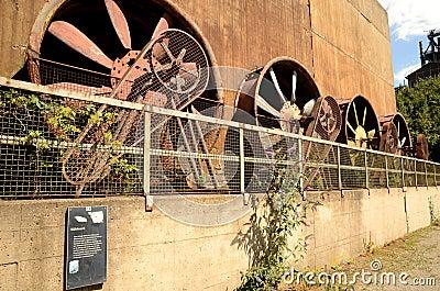 Ventilators for blast furnace