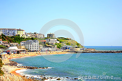 Ventnor, Isle of Wight. Editorial Stock Photo