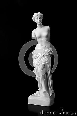 The Venus de Milo is a marble statue of the Hellenistic era.
