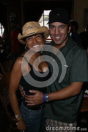 Vera Jimenez and Leo Quinones Editorial Stock Image