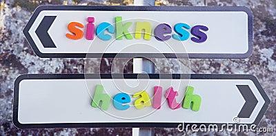 Verbindung in der Krankheit und in der Gesundheit.