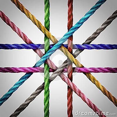 Verbonden gecentraliseerd voorzien van een netwerk stock illustratie afbeelding 73557373 - Een wasruimte voorzien ...
