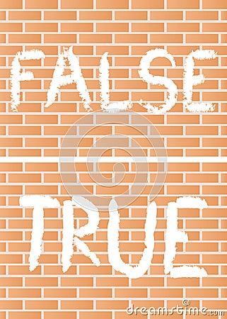 Verdad y falso